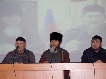 Муфтий ЧР Салах-Хаджи Межиев провел встречу с работниками Республиканского Реабилитационного центра