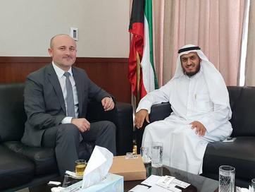 Заместитель Муфтия ЧР по внешним связям Турко Даудов  с рабочей поездкой находится в Кувейте