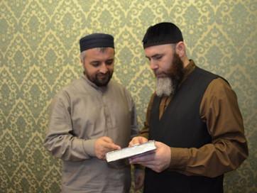 ДУМ ЧР посетила религиозная делегация из Дагестана