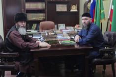 Рабочая встреча Муфтия и директора ДВРОО АГиП ЧР