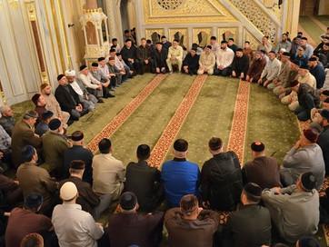В мечети «Сердце Чечни» провели религиозный обряд