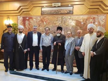 Муфтий ЧР Салах-Хаджи Межиев встретился с губернатором Алеппо Хусейном Ахьмадом Диябом