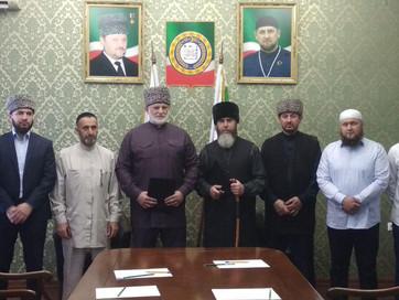 Встреча с делегацией из Северной Осетии - Алании