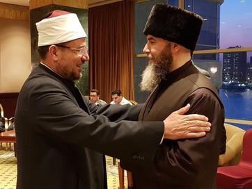 Муфтия Чечни принял участие в международной исламской конференции против радикализма в Каире.