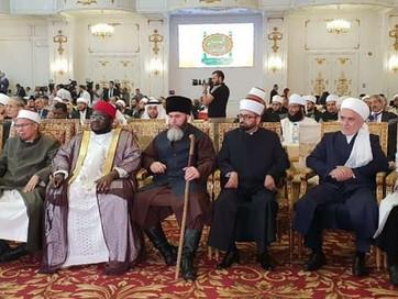Советник Главы Чеченской Республики, Муфтий ЧР Салах-Хаджи Межиев принял участие в конференции в Еги