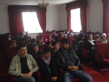 Встреча со школьниками прошла в Веденском районе
