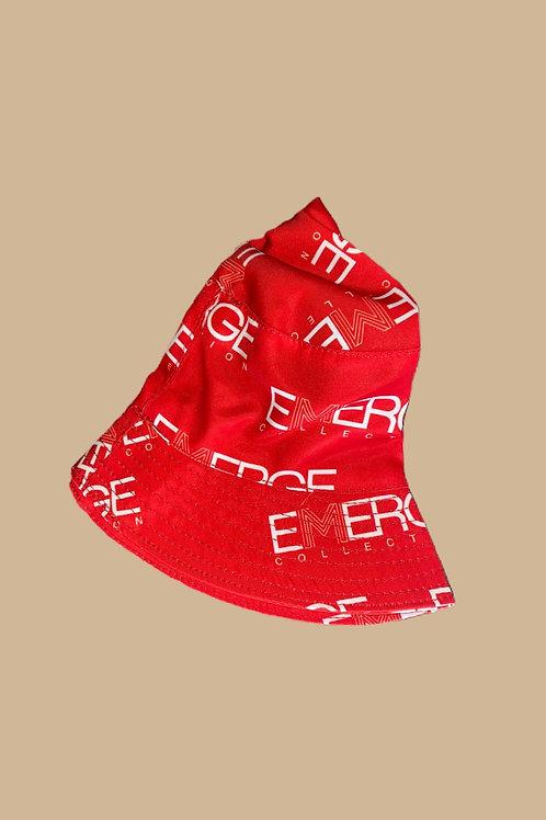 Emerge Bucket Hat (Red)