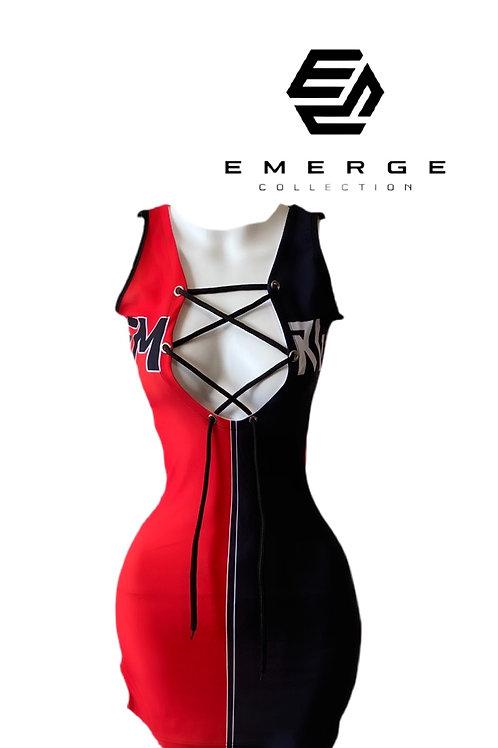 EMRG 2.0 DRESS (Red & Black)