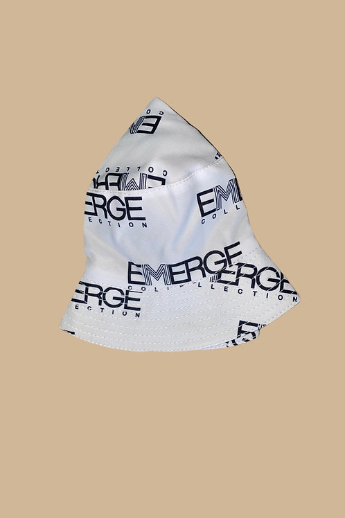 Emerge Bucket Hat (White)