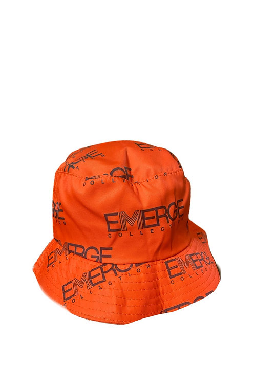 Emerge Bucket Hat (Orange)
