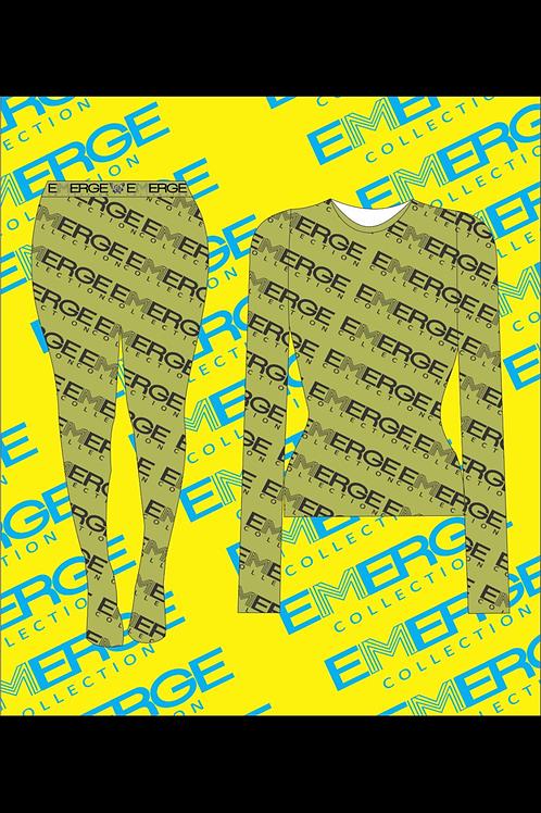 Emerge Mesh Two Piece Set (Green)