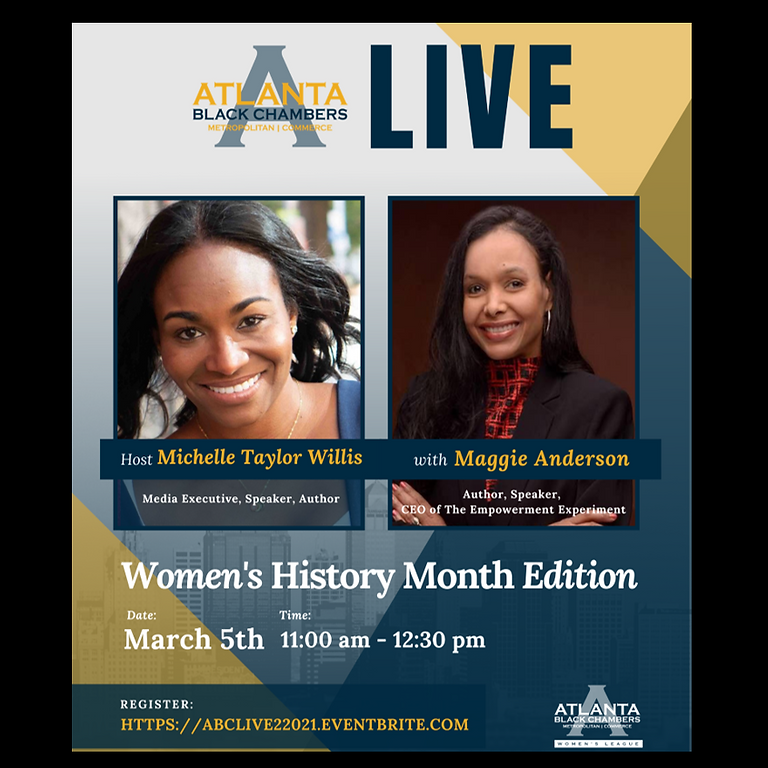 Atlanta Black Chamber Women's History Month Interview