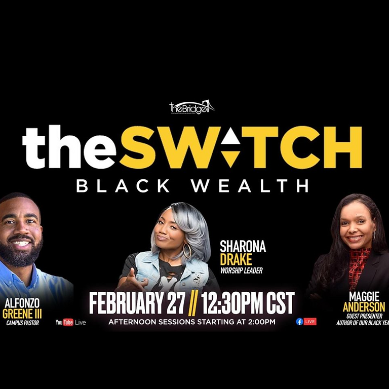 The Switch and the Black Owned Hair Care Challenge Faith Event