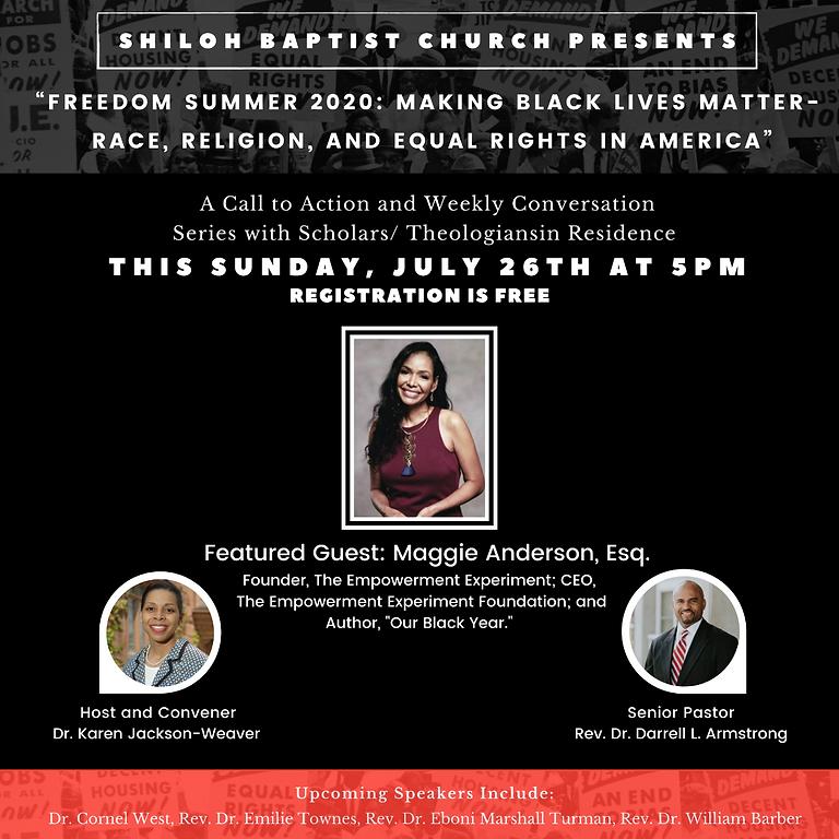 Freedom Summer 2020 Speaker Series