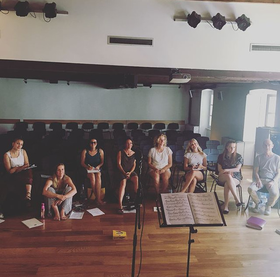 Amaziiiing first day of my #beyondvocals