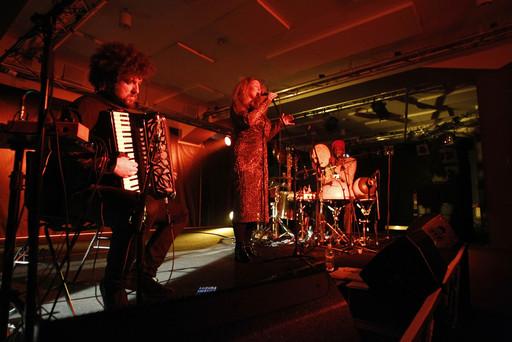 ELDA Trio at Kino Siska, Ljubljana