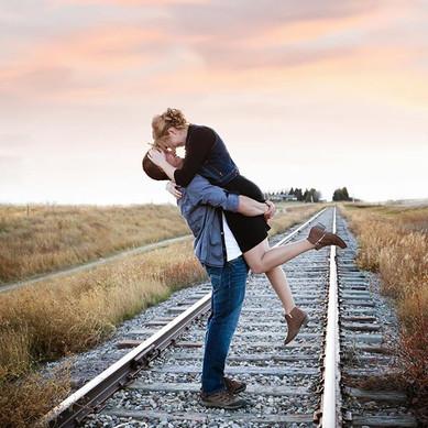 She said YES!  Engagement Photography