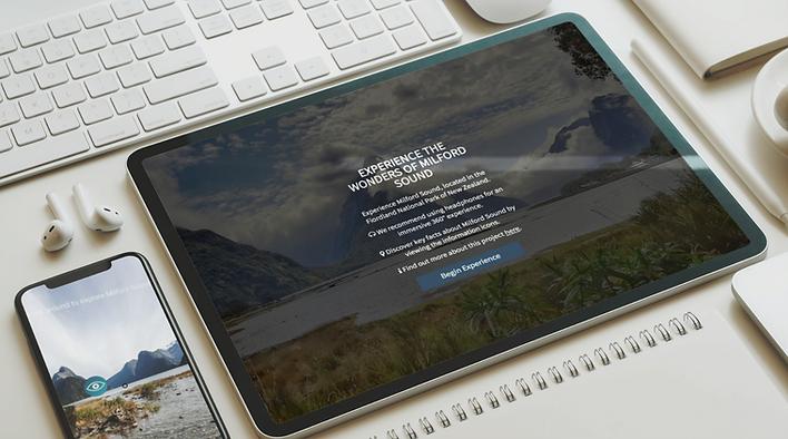 Milford Sound Virtual Reality Experience