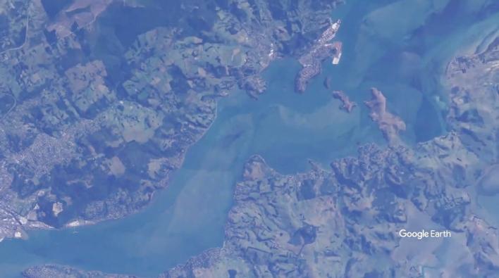 Dunedin Cruise Port Flyover