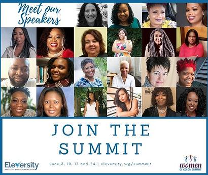 Meet Speakers 3rd Annual Women of Color