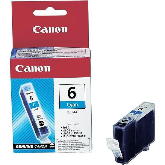 Canon Bci-6 Photo Cyan Cartridge
