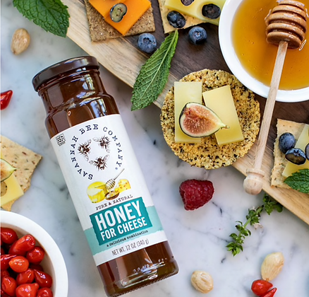 Honey For Cheese, 12 oz. - By Savannah Bee