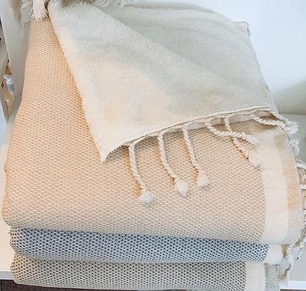 """Whistler Fleece Wrap Throw - 70"""" x 40""""; 600 grams"""