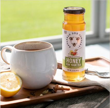 Honey For Tea, 12 oz - By Savannah Bee