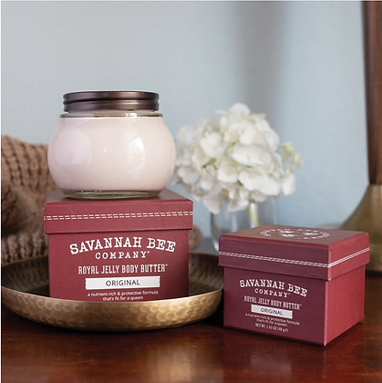 Royal Jelly Body Butter, Original, 6.7 oz. - By Savannah Bee