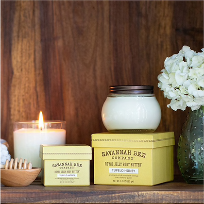 Royal Jelly Body Butter, Tupelo Honey, 6.7 oz - By Savannah Bee