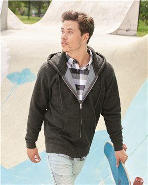 Independent Trading Co. Heavyweight Full-Zip Hooded Sweatshirt
