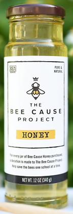 Bee Cause Honey, 12 oz. - By Savannah Bee