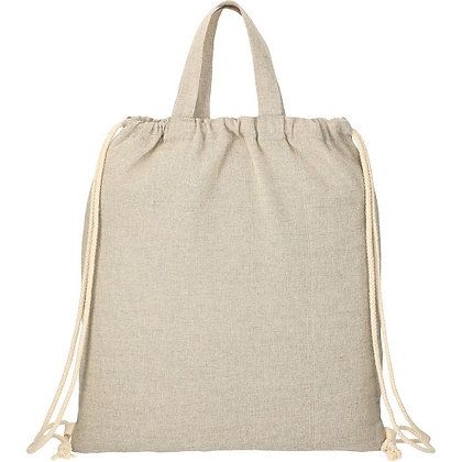Recycled 4 oz. Cotton Drawstring Bag