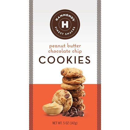 Hammond's Candies – Peanut Butter Chocolate Chip Cookies