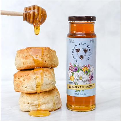 Savannah Honey, 12 oz. - By Savannah Bee