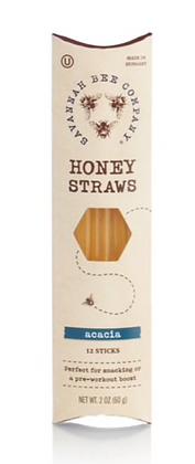 Honey Straw 12 Pack - By Savannah Bee