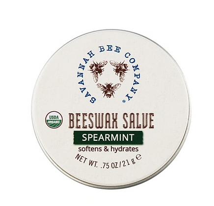 Beeswax Salve Mini, Spearmint - By Savannah Bee