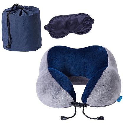 AeroLOFT™ Travel Pillow with Sleep Mask