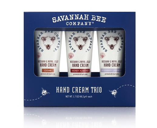 Hand Cream Trio Set in Box - By Savannah Bee