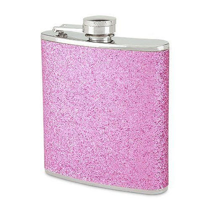 Sparkletini 6 Oz Party Flask Pink By Blush®