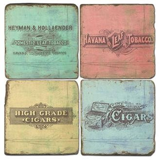 Cigar Signs - Coasters