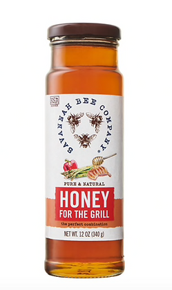 Honey For Grilling, 12 oz. - By Savannah Bee