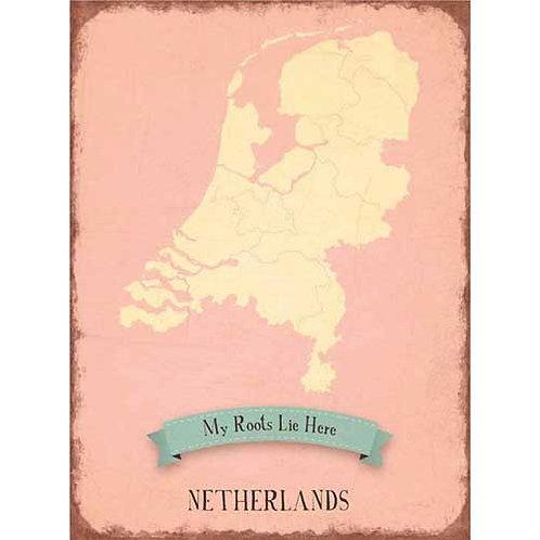 Netherlands pink