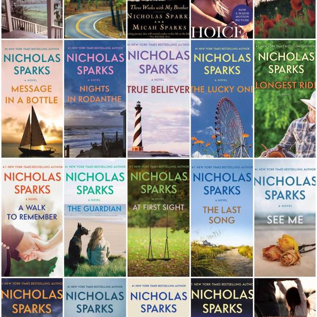 Nicholas Sparks Major Collection