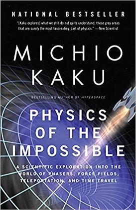 MICHIO KAKU COLLECTION OF 8 SETS OF BOOKS