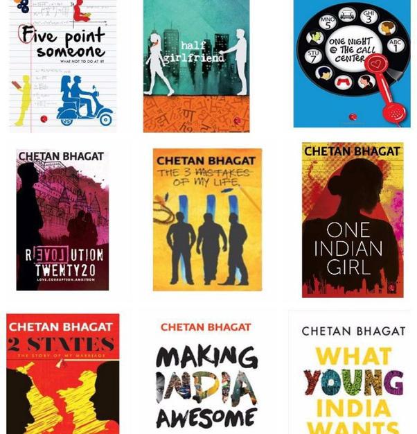 Chetan Bhagat Collection