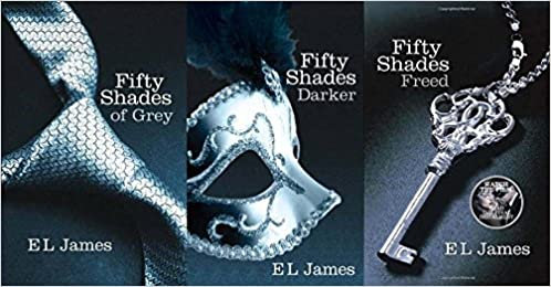 Combo of Fifty Shades of Grey, Darker and Freed