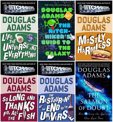 The Ultimate Hitchhiker's Guide ( Complete Trilogy Of Five )