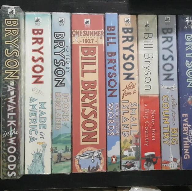 Bill Bryson Major Collection