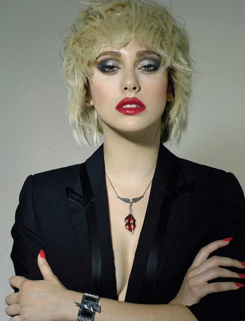 Blanca Suárez caracterización Blondie ELLE